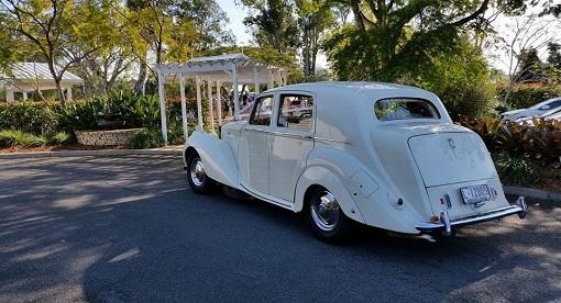 Brisbane Wedding Rolls Royce Silver Dawn cw