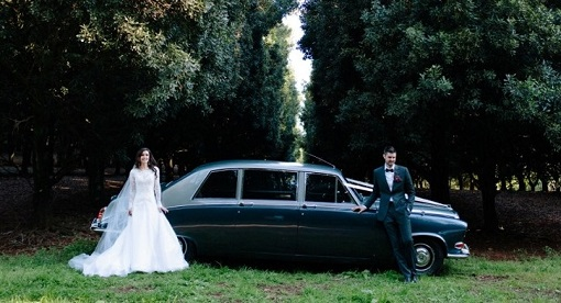 Classic Wedding Car-Daimler DS420 cw