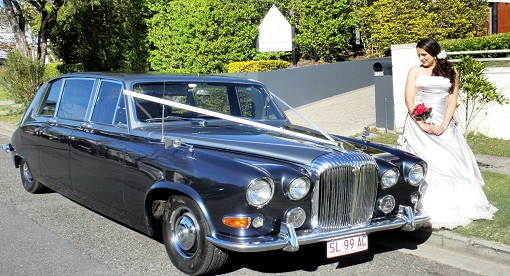 Classic Wedding Car Hire Brisbane - Premier Limousines cw