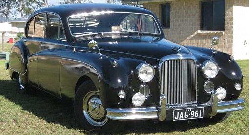 Jaguar Mk IX Black W