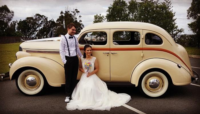 Classic Wedding Car Hire Brisbane R