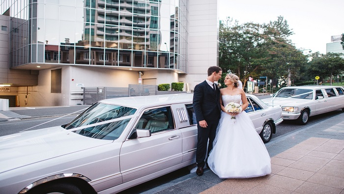 Mercedes Wedding cars Brisbane R 2