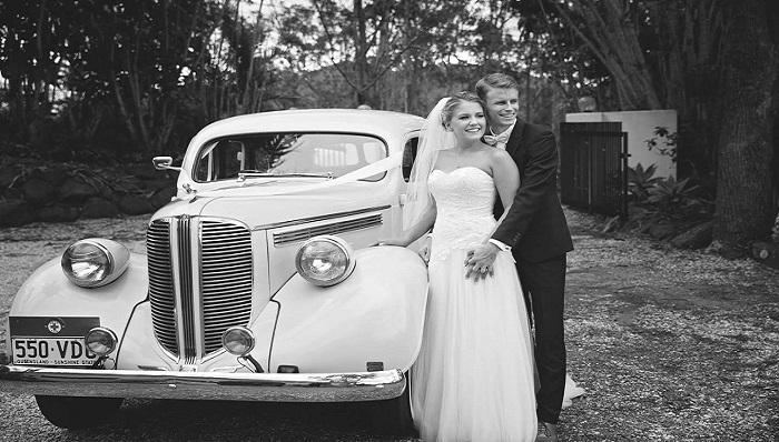 Vintage Wedding Car Hire - Premier Limos Brisbane RC